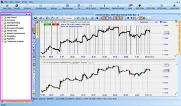 Gratis screeners voor aandelen, forex, ... in het NanoTrader trading platform.